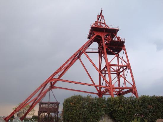 Tagawa City Coal-mining Museum: 立坑