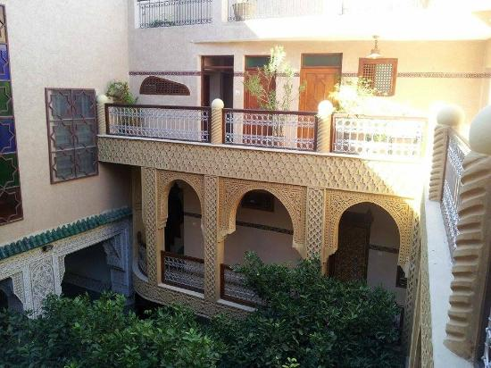 Riad Les Chrifis: terrace view