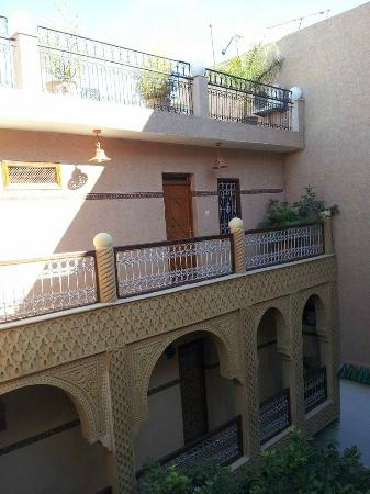 Riad Les Chrifis: Patio