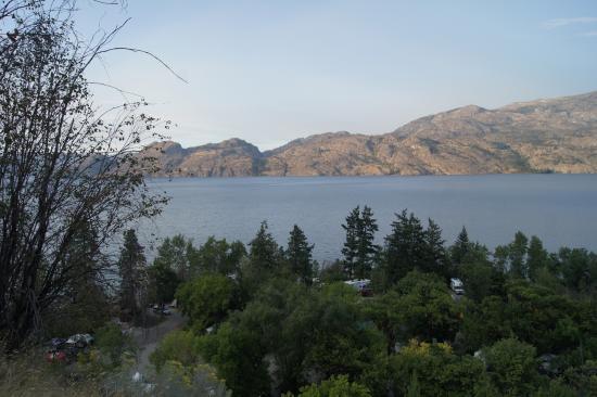 Winfield, Canadá: Camping en Okanagan lake