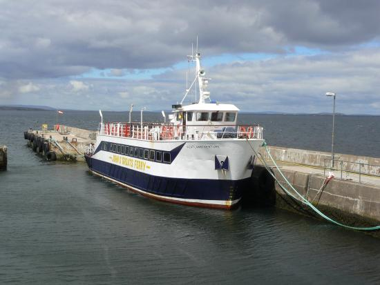 John O'Groats Ferries: The boat