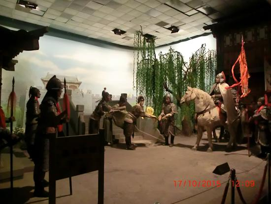 Changping Wax Palace Of Ming Dynasty Emperor: Chinese soldier on a warhorse