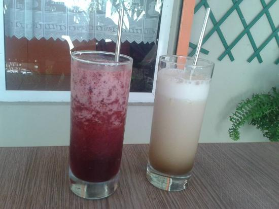 At Linda's Place : Ice tea (Homemade)