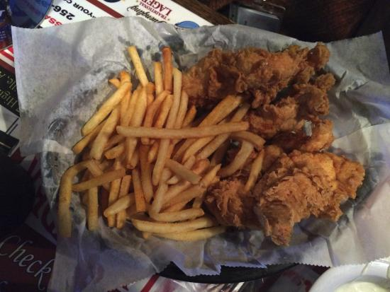 Boaz, Алабама: Chicken Tenders