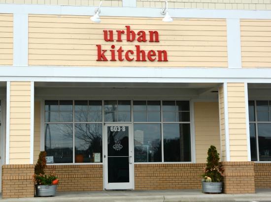 Urban Kitchen: Not easy to find