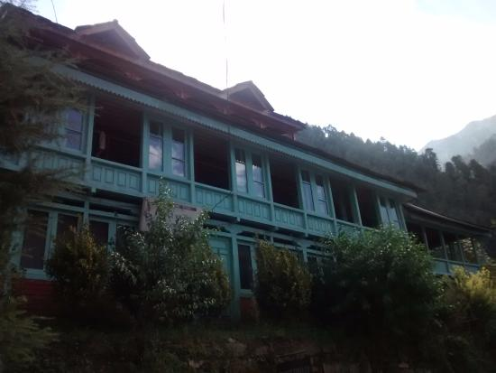 Front view of Khem Bharti home stay