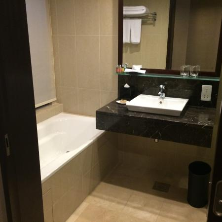 Hotel Royal Singapore Bathroom Toilet And Shower On Right Hand Side Not Visible