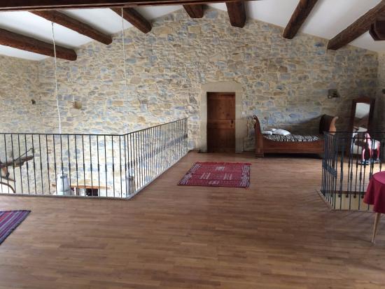 Mauressargues, Francia: la mezzanine