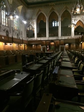 Interno foto di collina del parlamento ottawa tripadvisor for Foto del parlamento
