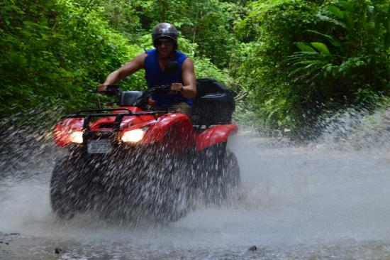 Mal País, Costa Rica: Our ATV tour!
