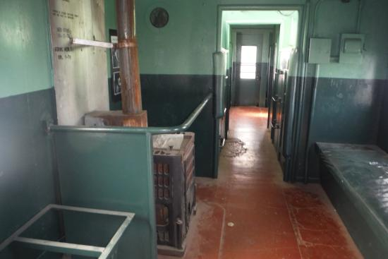 Heritage Station Museum: Inside a real caboose