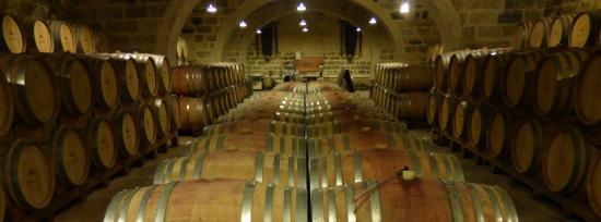 Marsovin : The wine cellar....