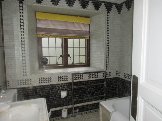 Bathroom John original 1920's bathroom - john aspinall's own special favourite