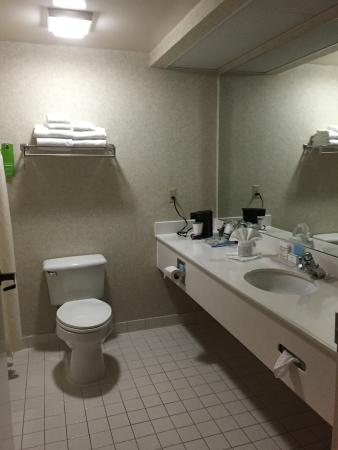 Hampton Inn Portland-Airport: Bathroom