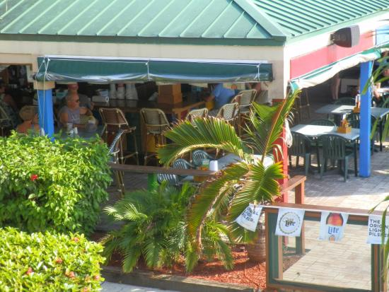 Tiki Bar Exterior Picture Of Wyndham Garden Fort Myers Beach Fort Myers Beach Tripadvisor