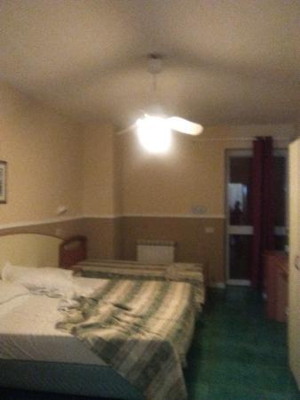 Hotel San Vincenzo Terme: aria condizionata con pale