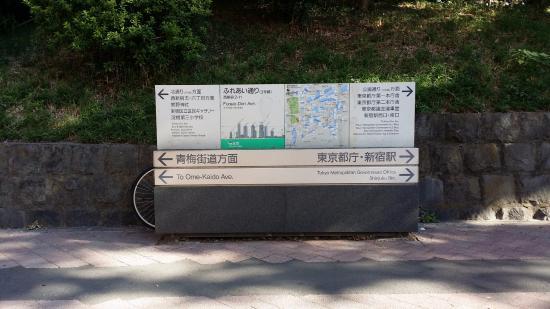Shinjuku New City Hotel: 新宿新城飯店 對面的中央公園