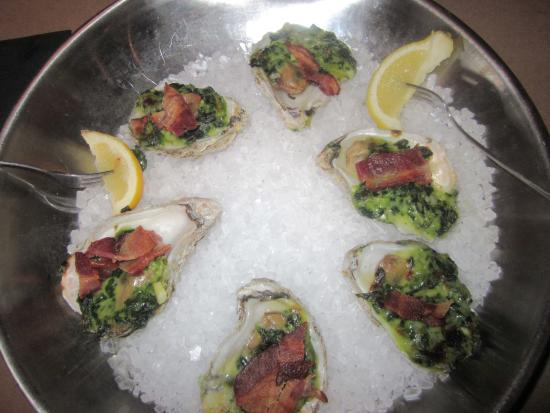 Bonefish Grill: Oysters Rockefeller