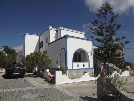 Agapi Villas: Vista parcial do Hotel