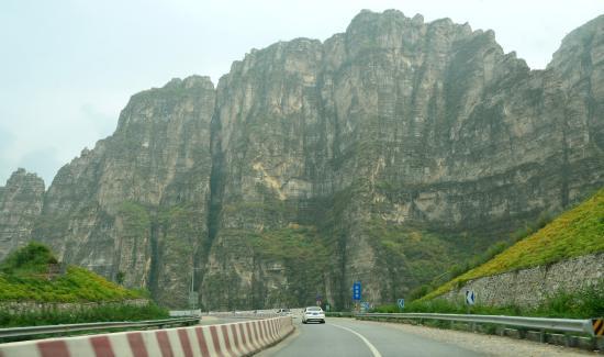 Shidu Nature Park: Beijing Shidu road view