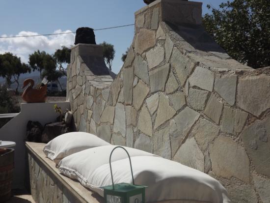 Karterádhos, Yunani: Área externa