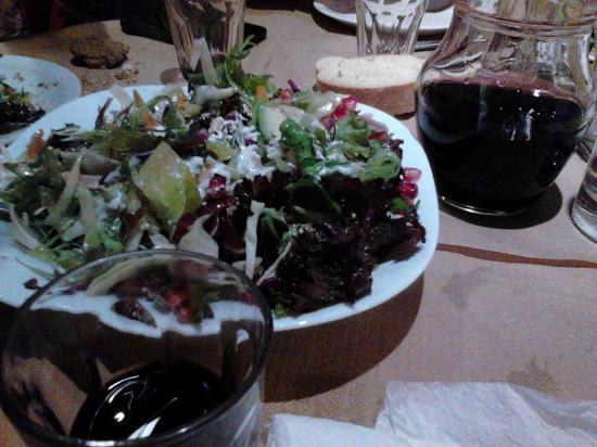 Episkopi, Grecia: εξαιρετικές σαλάτες