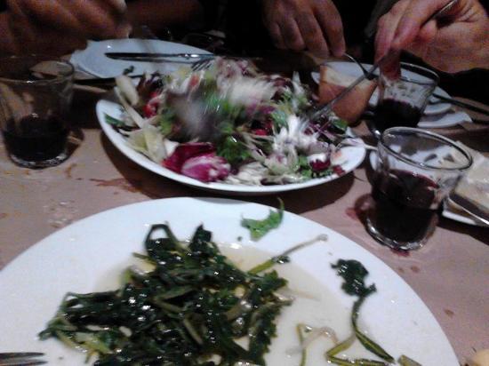 Episkopi, Grecia: χόρτα του βουνού και μεσογειακή διατροφή....