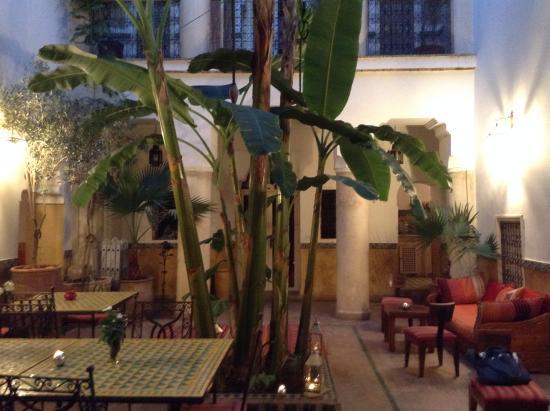 Riad Ker Saada: patio