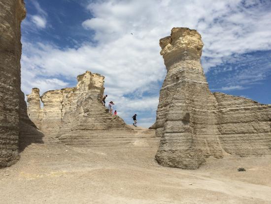 Oakley, Κάνσας: Monument Rocks