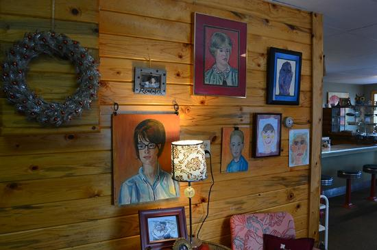 Mama B's Kitchen Family Picture Wall, Hot Sulphur Springs, CO