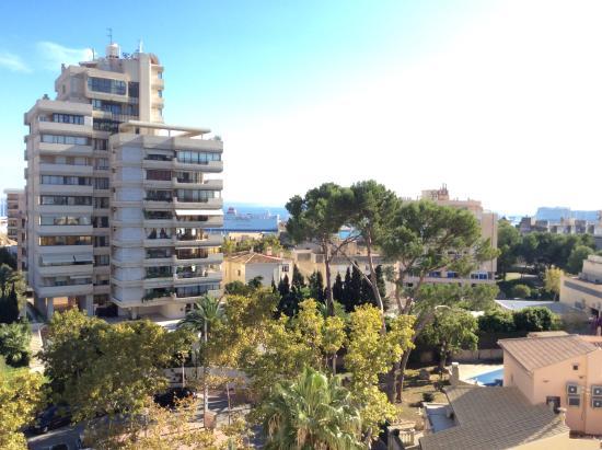 Vista desde la terraza picture of hotel isla mallorca - Spa palma de mallorca ...