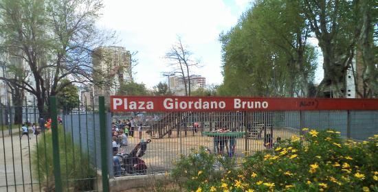 Plaza Giordano Bruno