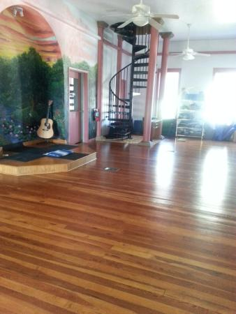 Alachua, Flórida: Yoga studio right outside the room