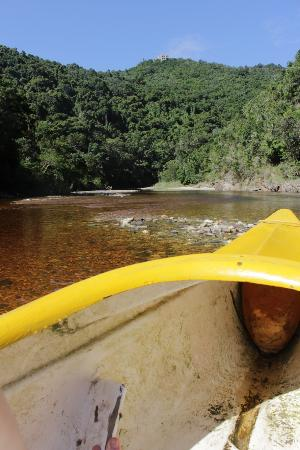 Wilderness, Südafrika: Impressive landscape seen from the canoe