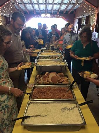 Vale, Carolina del Norte: Wedding Catering Double Line