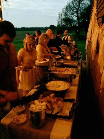 Vale, Carolina del Norte: Catering in Action