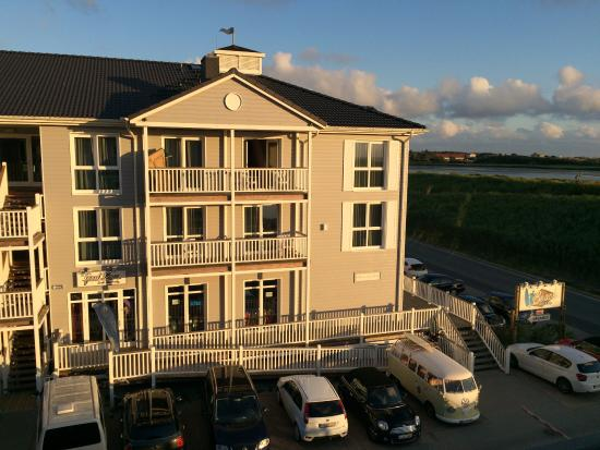 unser balkon picture of beach motel st peter ording sankt peter ording tripadvisor. Black Bedroom Furniture Sets. Home Design Ideas