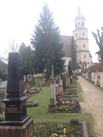 Old Cemetery Berchtesgaden : special atmosphere
