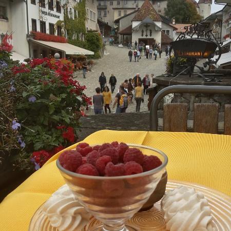 Auberge de la Halle: десерт