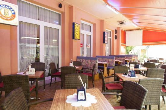 terrazza - Foto di Hotel Taormina, Jesolo - TripAdvisor