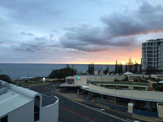 Raffles Mooloolaba: Morning View From Raffles