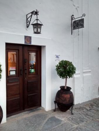 Casa Pinto: Entrada da casa
