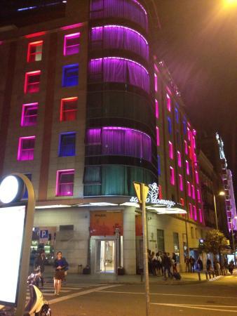 Piscina En Terraza Picture Of Hotel Santo Domingo Madrid