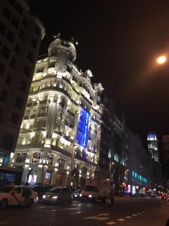 A gorgeous hotel on the Gran Via