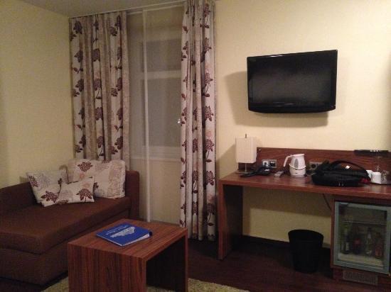 De rest van de slaapkamer - Bild von Hotel Storck, Bad Laer ...