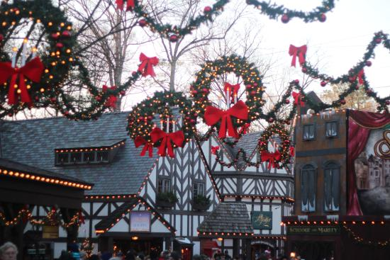 Busch Gardens Christmas Town Picture Of Busch Gardens