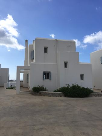 Agios Prokopios, Grecja: Our home for four days