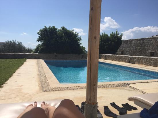 Agios Prokopios, Grecja: Our private pool