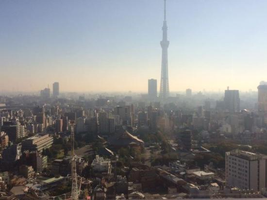 Musashi: View of the Tokyo Skytree and various temples
