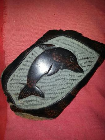 San Antonio, Belize: Original slate stone carvings only at tanah mayan art museum